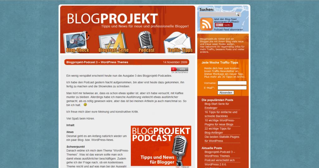 blogprojekt